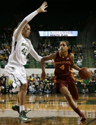 No. 1 Baylor women 67-39 over No. 25 Iowa State