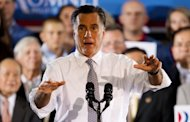 Republican White House hopeful Mitt Romney, pictured last week, has appeared to contradict previous campaign statements by saying President Barack Obama&#39;s health reform law entails a &quot;tax&quot; and not a penalty