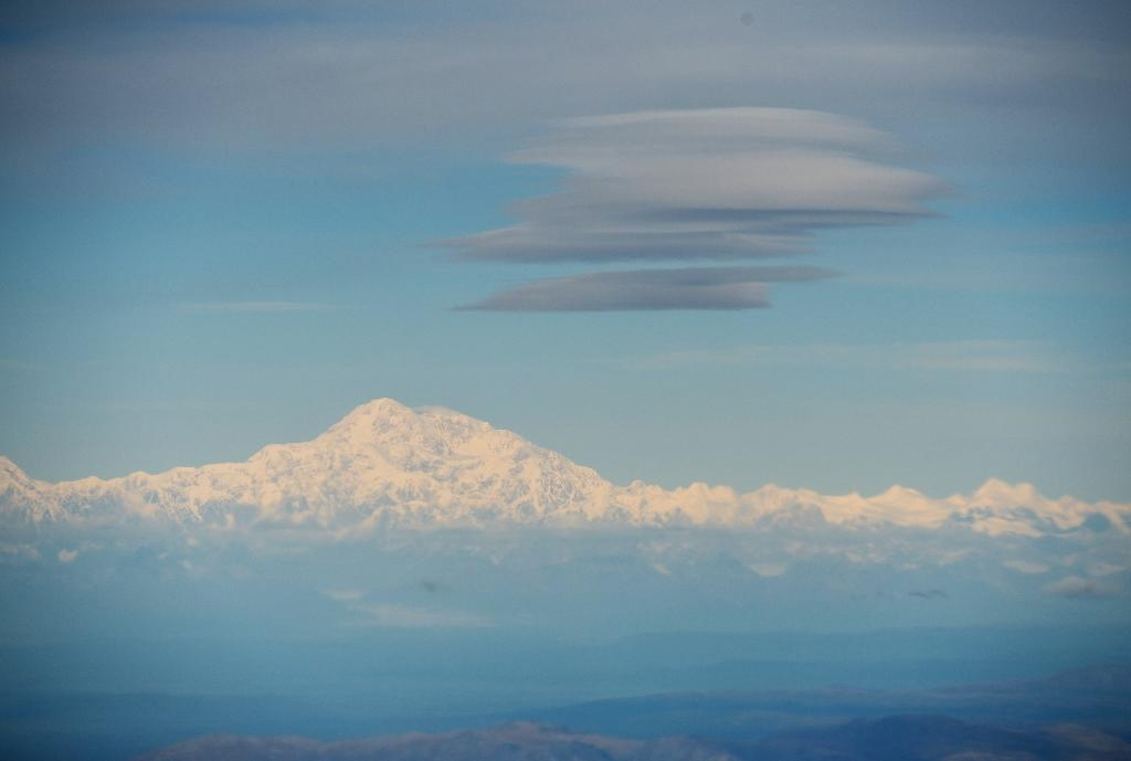 Denali, tallest peak in N.America, loses 10 feet