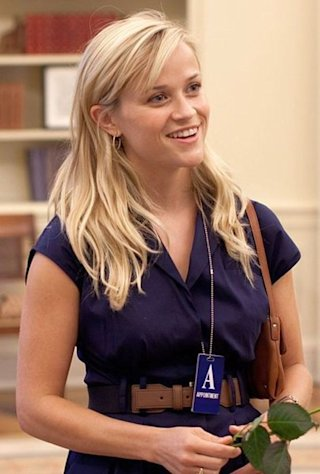 Reese Witherspoon in Oval Office