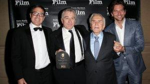 Robert De Niro Honored by Santa Barbara Film Fest, Kirk Douglas, 'Playbook' Collaborators