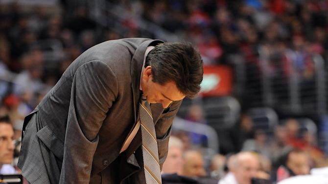 NBA: New Orleans Hornets at Los Angeles Clippers