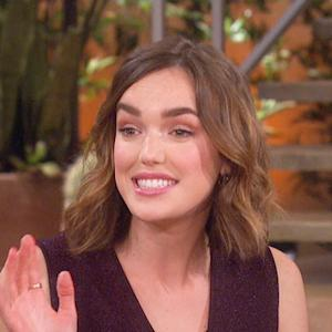"The Talk - Elizabeth Henstridge on ""Marvel's Agents of S.H.I.E.L.D"""