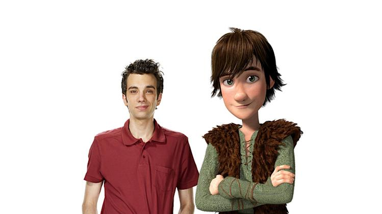 How to Train Your Dragon Production Photos 2010 DreamWorks Jay Baruchel