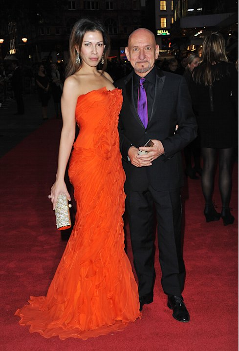 Never Let Me Go UK Premiere 2010 Ben Kingsley