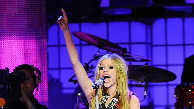 Avril Lavigne Much Music Awards