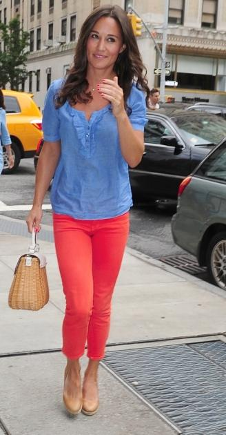 Pippa Middleton is spotted in New York City on September 5, 2012 -- Getty Premium