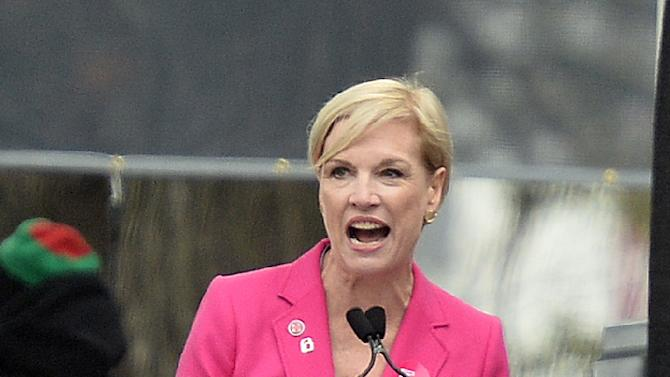 """Planned Parenthood president, Cecile Richards, vowed her group,the biggest US provider of family planning, will """"never stop fighting"""" for access to reproductive health services"""