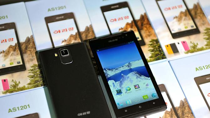 Skepticism as NKorea shows home-grown smartphone