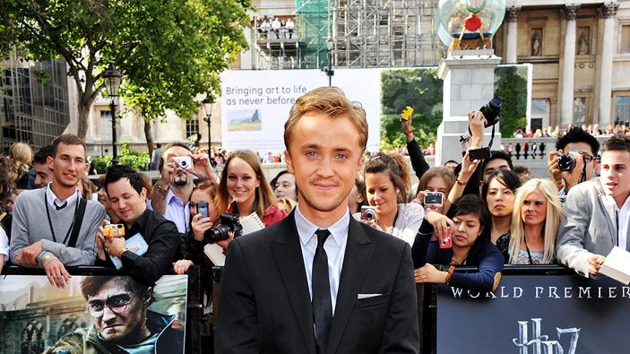 Harry Potter UK Premiere 2011 Tom Felton