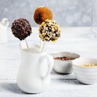 Easy truffle pops