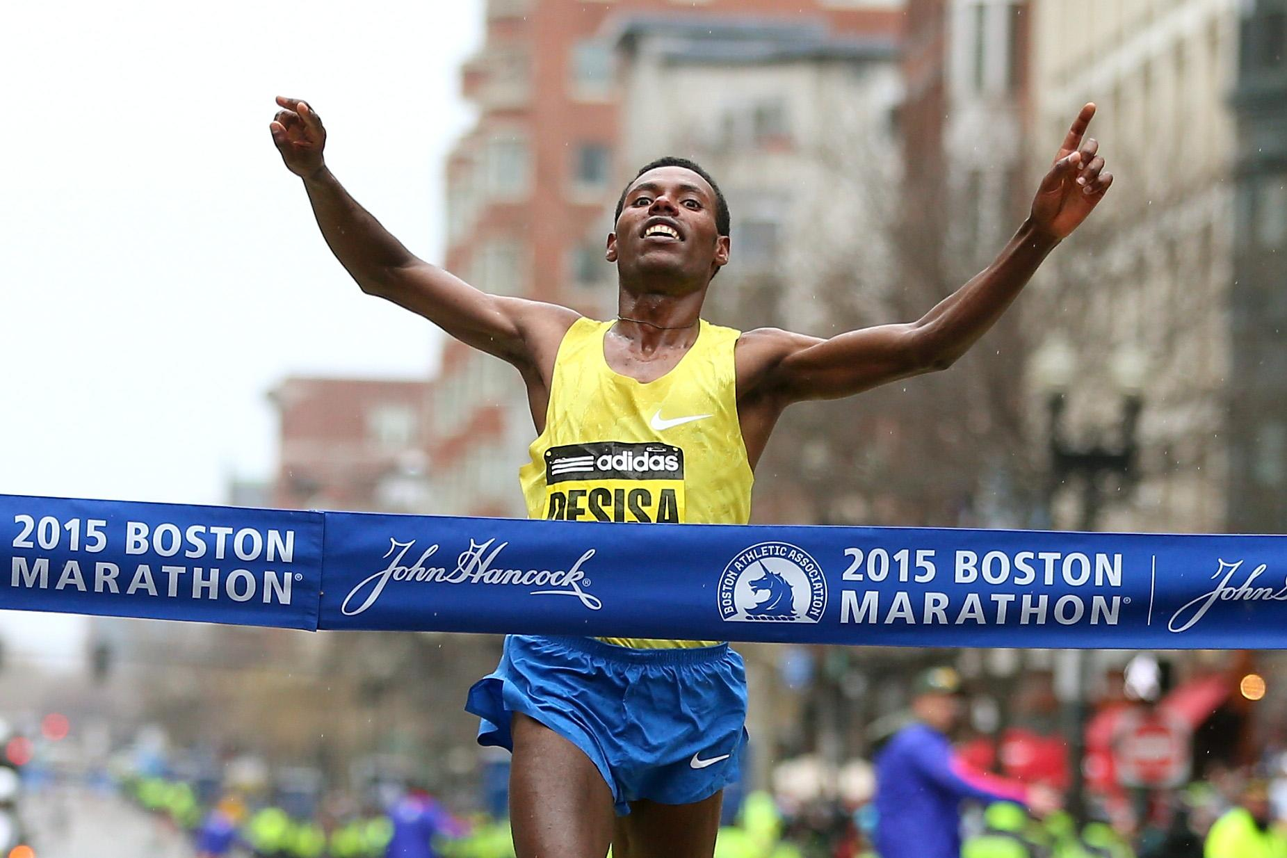 Desisa wins second Boston Marathon crown