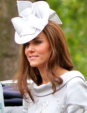 Kate Middleton, Duchess of Cambridge, is hoping for a happy 2013.
