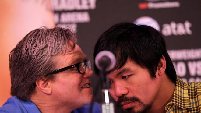 Trainer Freddie Roach Talks Getty Images