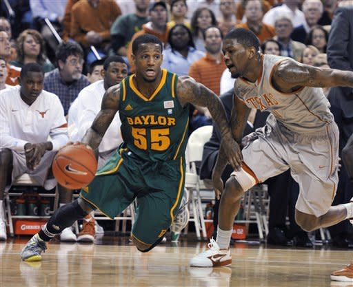 Acy double-double powers Baylor over Texas 77-72