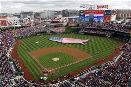 Ramos homers in return; Nats top Brewers 8-5