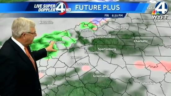 Dale's forecast for Friday, January 25, 2013