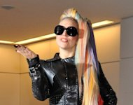 US pop star Lady Gaga arrives at Japan&#39;s Narita international airport on May 8. Indonesian police said they would not issue a permit for a Lady Gaga concert scheduled for June 3 in Jakarta