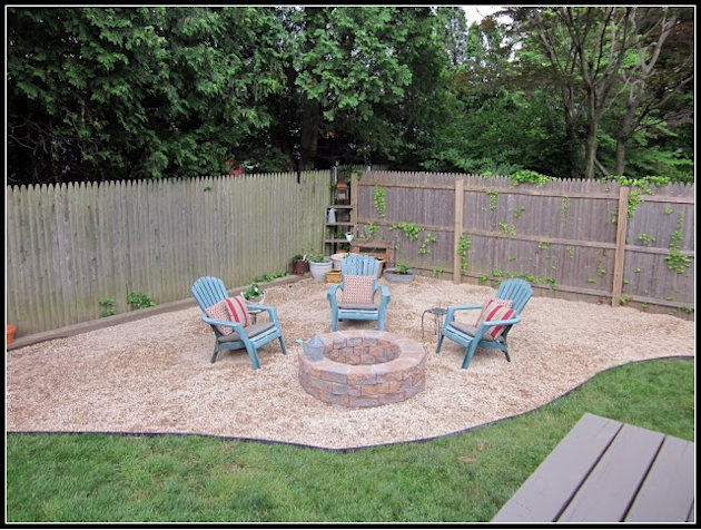 Build a Firepit Using Pavers