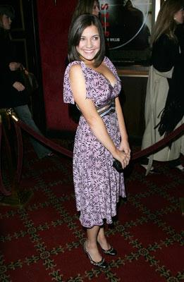 Michelle Horn at the New York premiere of Miramax Films' Hostage