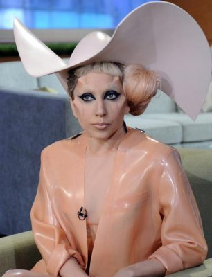 Lady Gaga: M.A. in song-iography Phd in fame-iology, licensed neuro-fashion-scientist. (Via NBC/Today Show)