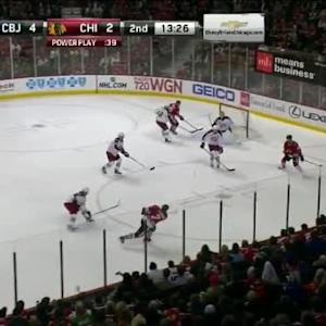 Sergei Bobrovsky Save on Brent Seabrook (06:37/2nd)
