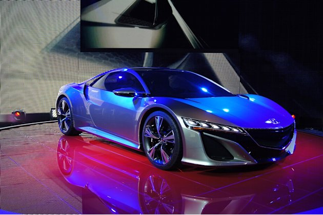 Concept Honda NSX