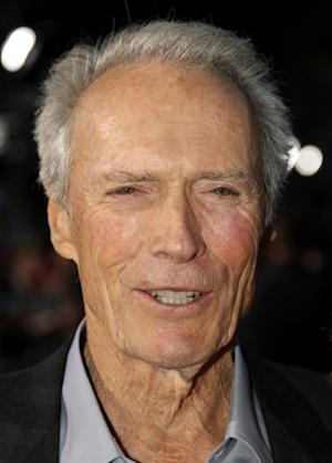 """Cast member Clint Eastwood attends the premiere of """"Trouble With the Curve"""" at the Westwood Village Theater on Wednesday, Sept. 19, 2012, in Los Angeles. (Photo by Matt Sayles/Invision/AP)"""