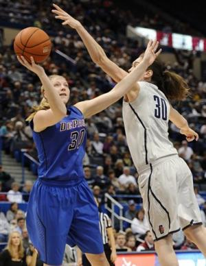 UConn women beat DePaul in Big East quarterfinals