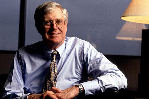 <b>5. Charles G. Koch, 76</b>…