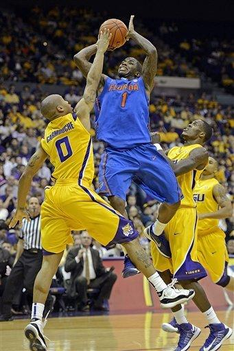No. 11 Florida beat LSU 74-52