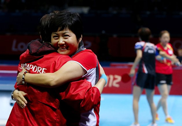 Singapore wins second bronze in table tennis
