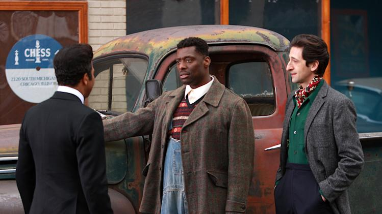 Jeffrey Wright Eamonn Walker Adrien Brody Cadillac Records Production Stills Tristar 2008