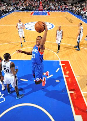 76ers tie team mark with 20th straight loss