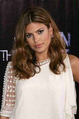 Eva Mendes at the New York premiere of Columbia Pictures' We Own the Night