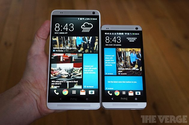 HTC One vs HTC One Max