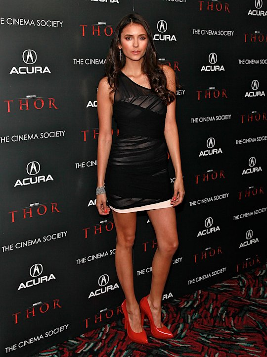 Thor NYC Screening 2011 Nina Dobrev