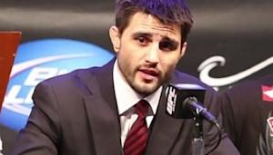 Carlos Condit Weighs In on Georges St-Pierre vs. Nick Diaz