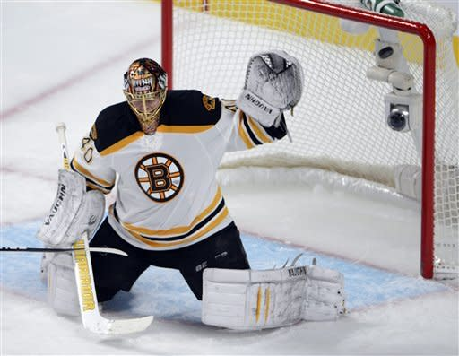 Seguin and Krejci score, lift Bruins to win