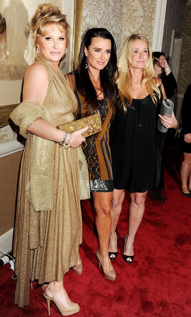 Kathy Hilton, Kyle Richards, Kim Richards