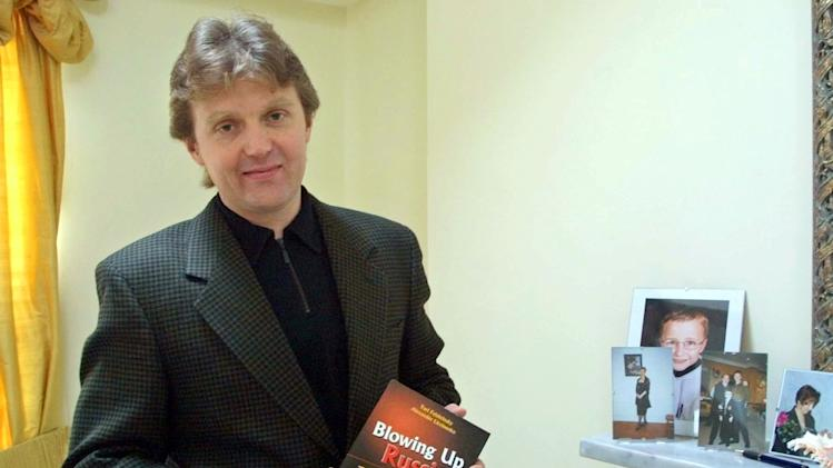 A 2002 photo from files showing Alexander Litvinenko
