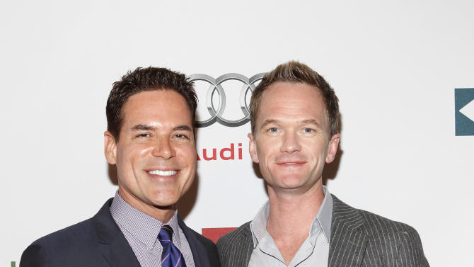 Executive director and CEO of Point Foundation Jorge Valencia and Actor Neil Patrick Harris are seen at the Point Honors New York Gala to honor champions of the LGBTQ community on Monday, April 15, 2013 in New York, NY. (Photo by Amy Sussman/Invision for Point Foundation/AP Images)