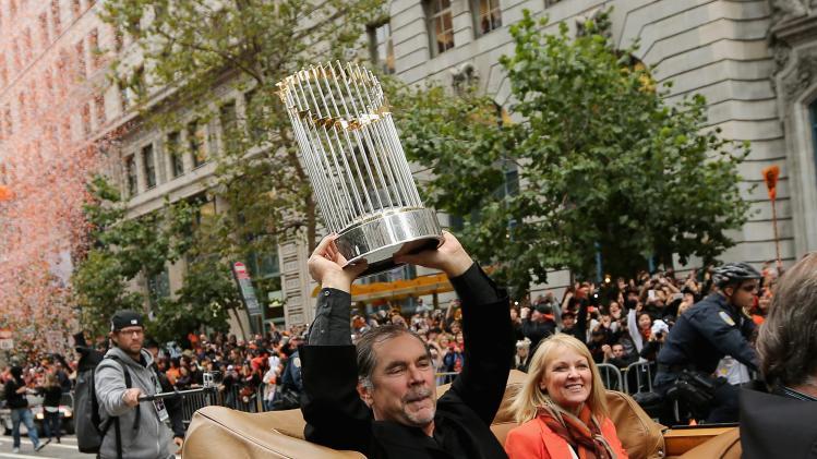 San Francisco Giants Victory Parade
