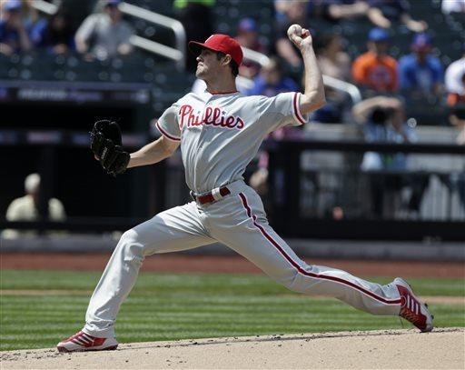 Howard's big hit leads Hamels, Phillies over Mets