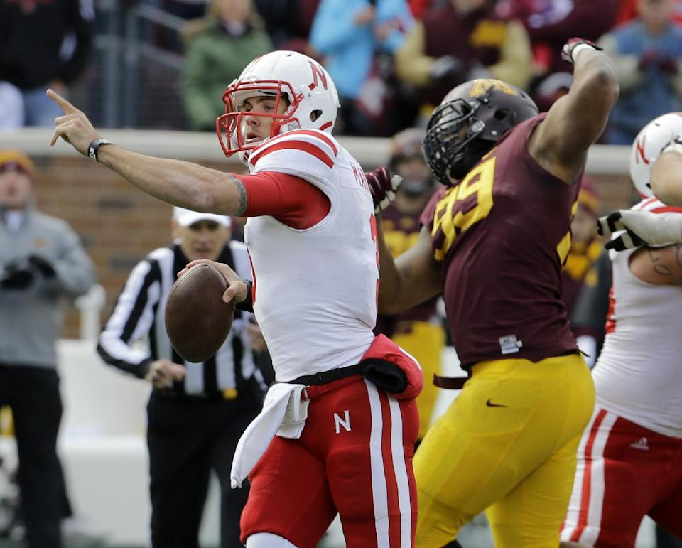 Nebraska QB Martinez says his foot is still ailing
