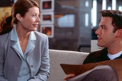 Gwyneth Paltrow and Ben Affleck in Miramax's Bounce