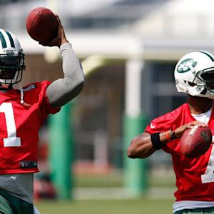 The deciding factor: New York Jets quarterback Geno Smith or quarterback Michael Vick?