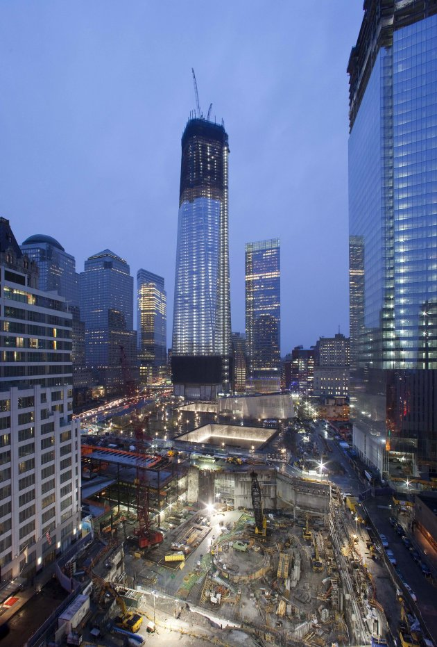 Arvind S 1 World Trade Center Reaches 100 Floors