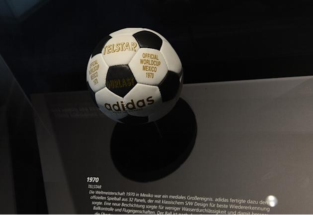 The Telstar Football Of The World Championship 1970 In Mexico Is AFP/Getty Images