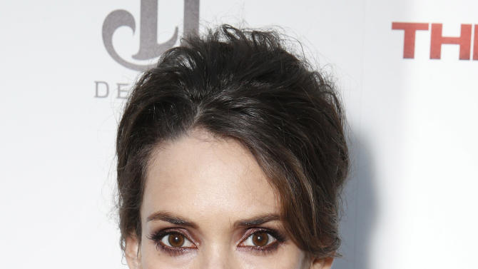 Winona Ryder attends the DeLeon Tequila Premiere of The Iceman at the Arclight on Monday, April 22, 2013 in Los Angeles. (Photo by Todd Williamson/Invision for Millennium/AP)